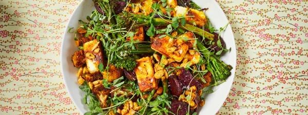 Indian Spiced Broccoli Salad