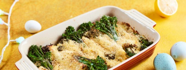 Tenderstem® broccoli Easter gratin