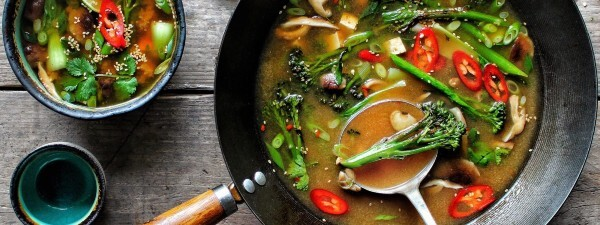 Tenderstem® broccoli & Tofu Miso Broth