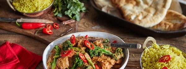 Chicken Rogan Josh Curry with Tenderstem® broccoli