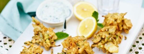 Spicy Tenderstem® broccoli Pakora