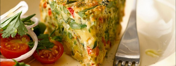 Tenderstem® broccoli & Chickpea Frittata