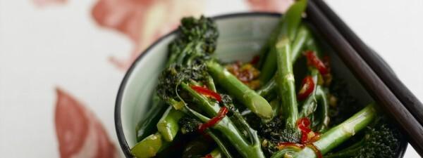 Stir-Fried Chilli & Garlic Tenderstem® broccoli