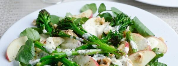 Tenderstem® Broccoli & Pink Lady Apple Salad