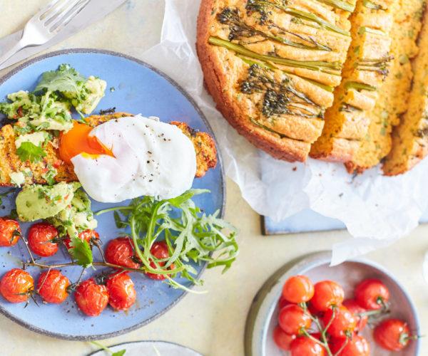 Meera Sodha's Tenderstem® broccoli Chilli Cheese Cornbread