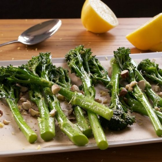 Sauteed Tenderstem® broccoli with Lemon Butter