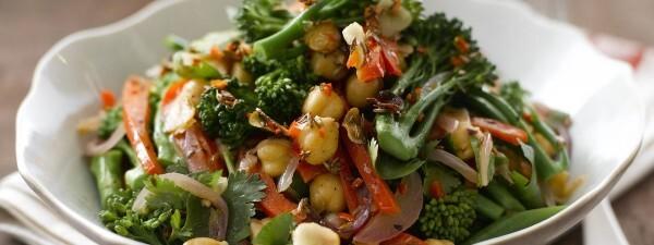 Warm Tenderstem® Broccoli & Chickpea Salad